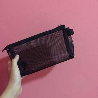 🚚 Free NM ! Muji Mesh pencil case