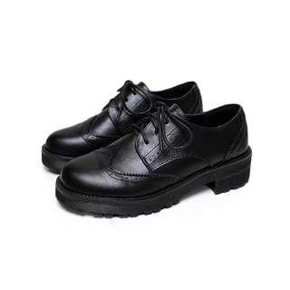 黑色英倫鞋no brand