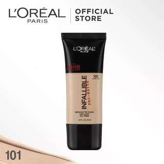 L'Oreal Infallible Pro Matte Foundation -101 Classic Ivory