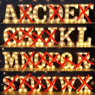 Alphabet Lights