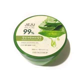 BRAND NEW: The Face Shop Jeju Aloe 99%