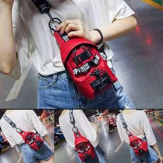 Red Small Cute Sling Bag