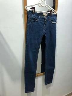 Levi's jeans 👖 Roxy jeans skinny jeans 修腳 $120 — 3件包順豐