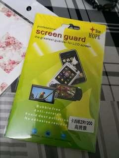 Casio Exilim ZR series Screen Protector & Case Protector