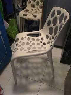 White design chairs
