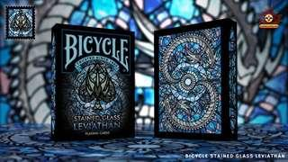 🚚 Stained Glass Leviathan Bicycle Playing Cards