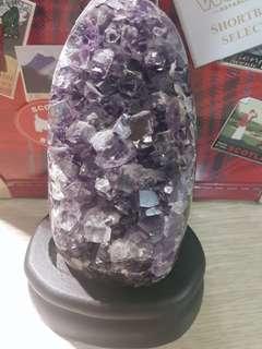 紫水晶擺件(大)