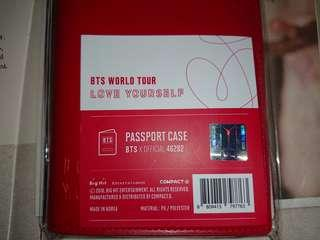 BTS Japan Love Yourself (LY Tour) MD Passport case set
