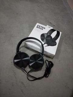 Extra Bass Headphones (Black)