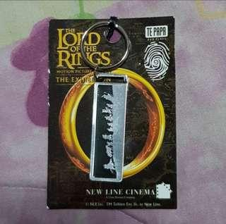Lord of the rings keychain