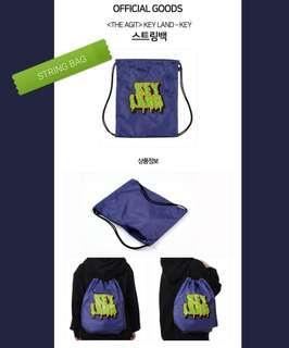 SHINee Key Official Key Land goods String bag