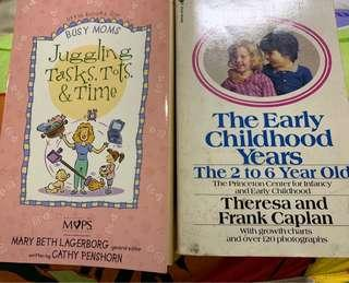 🚚 Books on for busy mum and childhood