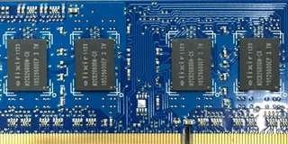 🚚 2手良品2GB PC3-10600/DDR3-1333筆記型電腦用記憶體