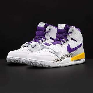 Murah!!Jordan Legacy 312 Lakers New BNIB original