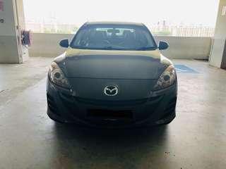 Car rental - Mazda 3 1.6