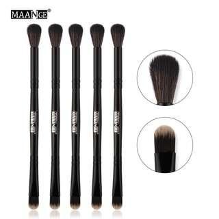 MAANGE 5pcs Eye Blending Brush Double-ended Concealer Brush Kit