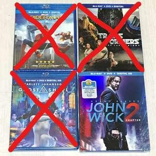 BN John Wick 2 Blu Ray US import