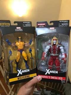 Marvel Legends Wolverine & Omega Red