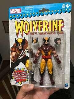 Marvel Legends Wolverine Retro wave