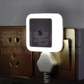 光控LED床頭感應小夜燈