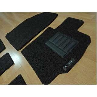 2019 TOYOTA PRIUS 7 SEATERS OEM FITMENT FULL 3 ROLLS OF SEATS FLOOR PVC CARPET MAT COLOR AVAILABLE - BLACK ,RED,GREY,GREEN ,BEIGE ,BROWN & BLUE...