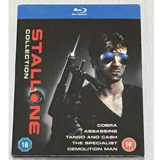 BN Cobra/Assassins/Tango and Cash/The Specialist/Demolition Man Blu ray