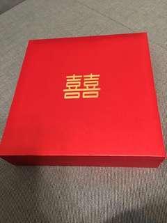 Tianpo 喜喜 wedding sidianjin box 916 si dian jin (四点金)