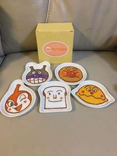 麵包超人碟仔x5