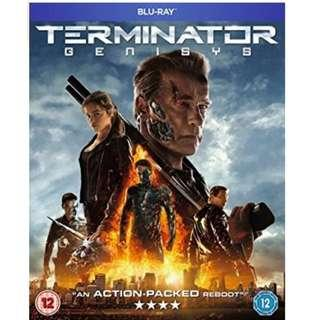 Brand new and sealed Terminator Genisys Blu ray