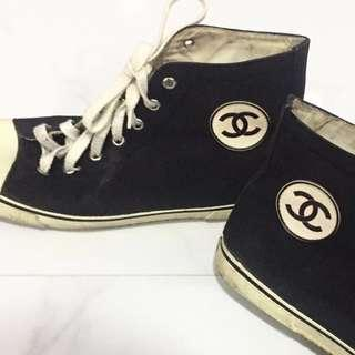 Chanel Real Vintage High cut sneakers