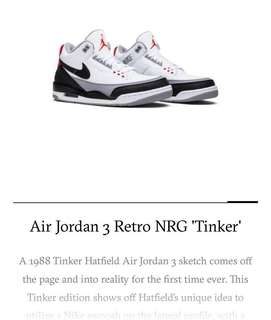 203baaa77cf893 Air Jordan 3 Retro NRG Tinker