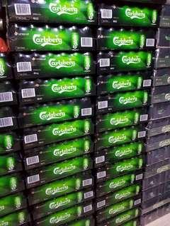 Carlsberg 320ml /tiger beer 330ml