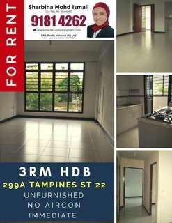 3RM @ TAMP ST 22 FOR RENT