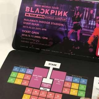 Blackpink Red Zone in Malaysia