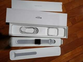 apple watch series 3 38mm - aluminium fog