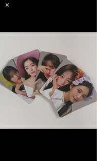 Preorder red velvet pc photocards 2019 season greetings kyobo bookmark P.O. benefit
