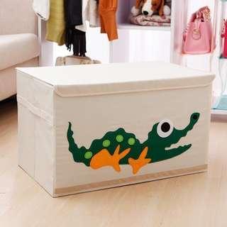 超大收納箱 LARGE BIG storage box 出口加拿大 卡通 折疊 兒童玩具 儲物 整理 有蓋 lid