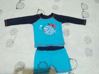 Rushguard for baby boy used ones