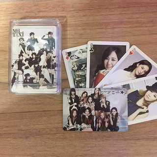 GIRLS GENERATION SNSD UNOFFICIAL POKER CARDS
