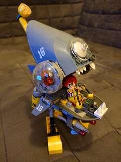 Lego 70629 shark 機 送 內地jorker