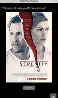🚚 Serenity movie tickets @ GV
