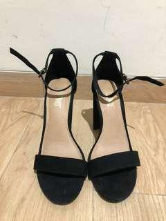 Brash Black Party Shoes