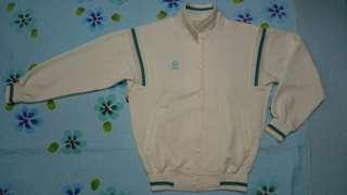 Vintage Asics Recorder baseball snap button track jacket