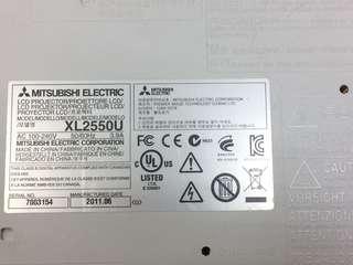 🚚 Toshiba XL2550U投影機