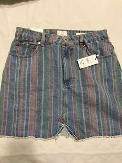 Cotton On Denim A-kind mini skirt
