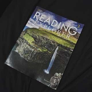🚚 READING EXPLORER 英文課本 #我要賣課本