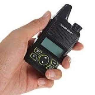 Mini walkie talkie boafeng