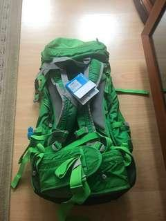 Columbia backpack 50L 行山背囊 with tag & recipt ( not osprey)