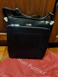 Brand New Black Hush Puppies Sling Bag