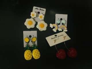 Assorted Cute Earrings (Per pair)